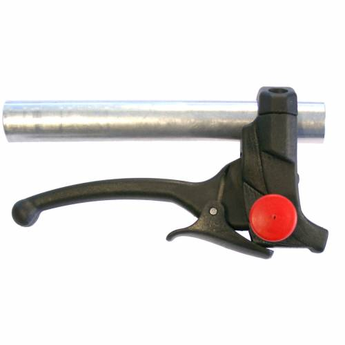 Brake + enable PARK SAFE lever
